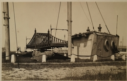 Oostende - Ostende // Carte Photo - FOTOKAART // Monument H. M. S. Vindictive En Brug Ca 1920-30 Mogelijk Uniek - Oostende
