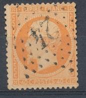 N°23 NUANCE ET OBLITERATION - 1862 Napoléon III