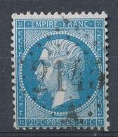 N°22 NUANCE ET OBLITERATION. - 1862 Napoléon III