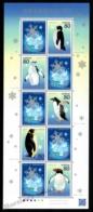 Japan - Japon 2011 Yvert 5480-85, Fauna. Penguins, 50th Anniv Antarctic Treaty - Sheetlet F5480 - MNH - 1989-... Keizer Akihito (Heisei-tijdperk)