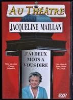 Au Théâtre Ce Soir - J'ai Deux Mots à Vous Dire - Jacqueline Maillan . - Cómedia