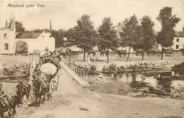 Belgique - Visé - Guerre 14/18 Sur Le Pont De Mouland - War 1914-18
