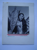 CARTE Ancienne : HAPPY NEW YEAR Vers 1960 / TAHITI / OCEANIE ( FRANCE ) Photo MACKENZIE - Tahiti
