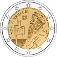 Belgie 2019  2 Euro Commemo Pieter Bruegel    Extreme Rare !!! - Belgium