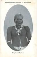 Iles SALOMON Missions Maristes D'Océanie  Un Indigène De Rubiana - Solomon Islands