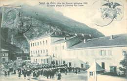 ITALIE Concerto Presso La Caserna Alpi Cozle Da OULX - Andere Steden