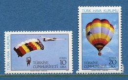 Turquie - YT N° 2458 Et 2459 - Neuf Sans Charnière - 1985 - 1921-... Republik