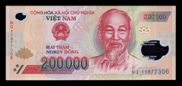 Vietnam 200000 Dong 2011 Pick 123e Polymer SC UNC - Vietnam