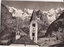"""Aosta Courmayeur Monte Bianco Timbro """"le Pavillon Rifugio Albergo"""" Fg Bollo Staccato - Italy"""