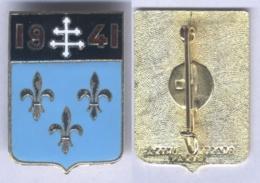 Insigne Du Groupe De Chasse 02-005 Ile De France 1941 - Armée De L'air