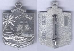 Insigne Du Régiment D'Infanterie De Marine Du Pacifique - Armée De Terre