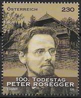 2018 Austria Österreich Mi. 3402**MNH   100. Todestag Von Peter Rosegger - 1945-.... 2nd Republic