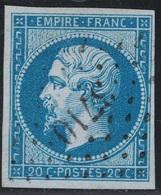 EMPIRE - N°14 -  ALGERIE - ALGER - PC3710. - 1849-1876: Periodo Classico