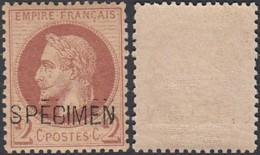 France 1863 - Yv.26 Sur Spécimen (DD)DC7303 - Specimen