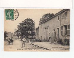 Viéville Sous Les Côtes. Meuse. La Lorraine Illustrée. Rue Jeanne D'Arc. (3543) - Francia