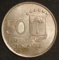 RARE - GUINEE EQUATORIAL - 50 PESETAS 1969 - KM 4 - Guinée Equatoriale