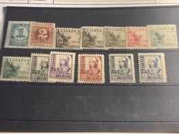España Nº 814/22, 825 Y 828. Año 1937-40 - 1931-Today: 2nd Rep - ... Juan Carlos I