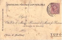 Conca Della Campania . 1917. Annullo Guller CONCA  DELLA CAMPANIA (CASERTA), Su Cartolina Postale - Storia Postale