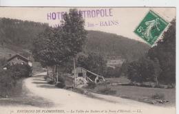..VOSGES - 71- Environs De PLOMBIERES, La Vallée Des Rochers Et La Route D'Hérival - L.L.   ( - Timbre à Date De  19.. ? - Plombieres Les Bains