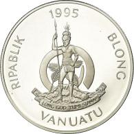 Monnaie, Vanuatu, Birth Of Great Grandson Prince William, 50 Vatu, 1995, FDC - Vanuatu