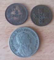 Portugal - 2 Monnaies 5 Reis 1905 (SUP) - XX Centavos 1948 (TTB / SUP) - Portugal