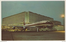 AK  Flugzeug Am Toronto International Airport Flughafen At Night _  Ansichtskarte _ Kleinformat - 1946-....: Era Moderna