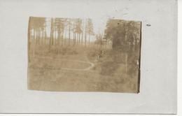 DUITSE FOTOKAART / CARTE FOTO ALLEMANDE AANLEG KERKHOF - Oorlog 1914-18