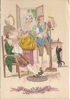Les Petits Métiers Au XVIII E  - Illustrateur E Naudy - Le Barbier - Pérruquier  - 1359 Q - Naudy