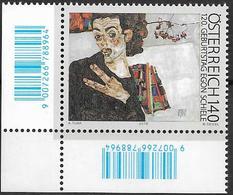 2010  Austria  Östereich   Mi. 2874 **MNH  EUL  120. Geburtstag Von Egon Schiele. - 2001-10 Ungebraucht