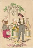 Les Petits Métiers Au XVIII E  - Illustrateur E Naudy - Le Porteur D'eau - 1359 C - Naudy