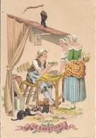 Les Petits Métiers Au XVIII E  - Illustrateur E Naudy - Le Savetier  - 1359 H - Naudy