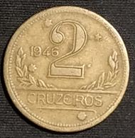 BRESIL - 2 CRUZEIROS 1946 - KM 559 - Brésil