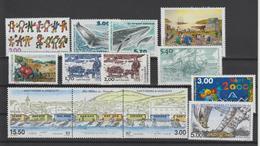 Saint Pierre Et Miquelon Année Complète 2000, 706 à 736 Et PA 80 Neuf ** - Full Years