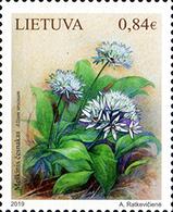 Lietuva Litauen 2019 MNH ** Mi. Nr. 1312 Red Book Of Lithuania. Forest Garlic - Lituanie