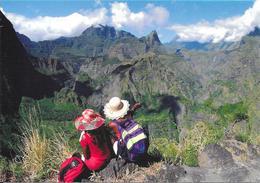 Carte Postale De La Réunion : Le Cirque De Mafate Depuis Le Sentier De La Canalisation. (Voir Commentaires) - Reunion