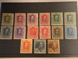 España Nº 310/21, 323 Y 317A. Año 1922/30. - Unused Stamps