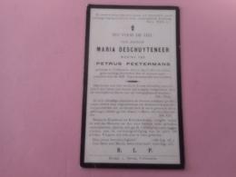 D.P.-EMIEL-VICTOR DE CRAECKER HOOFDONDERW.°IMPE 27-9-1850+LEDE 9-4-1932 - Religión & Esoterismo