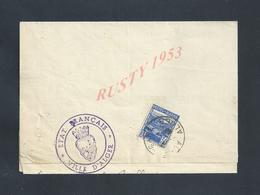 ALGÉRIE LETTRE AVEC EN TÊTE ETAT FRANÇAIS VILLE D ALGER 19491  : - Lettres & Documents