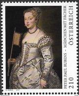 2017 Österreich Austria Mi. 3363 **MNH  Mädchen Mit Fächer; Gemälde Von Peter Paul Rubens - 2011-... Ungebraucht