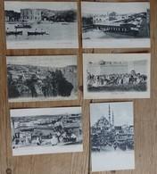 Constantinople - Lot De 6 Cates Postales -  Constantinople Et  Mariage Arabe - 2 Scans - Turkije