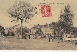 CPA - 03 - VALLON-EN-SULLY - Les Hôtels -  012 - Autres Communes