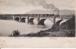 313587Hendaye, Pont International Du Chemin De Fer - Hendaye