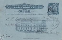 CHILI 1913     ENTIER POSTAL/GANZSACHE/POSTAL STATIONERY  CARTE DE PUERTO MONTT - Chili