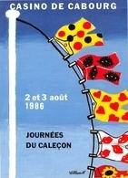 Bernard VILLEMOT - Affichiste Né à Trouville-sur-Mer - Journées Du Caleçon Au Casino De Cabourg - Andere Illustrators