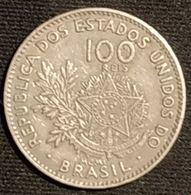 BRESIL - 100 REIS 1901 - Liberté - KM 503 - Brésil