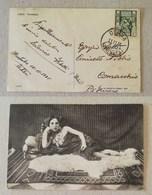 Cartolina Illustrata Derna (Cirenaica) Per Comacchio (Ita) - 11/11/1936 - Libia