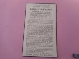 D.P.-CONSTANT DE BRUCKER °LEDE 22-5-1859+HOFSTADE 19-11-1939 - Religión & Esoterismo