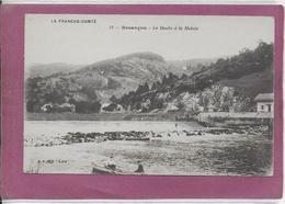 25.-   BESANÇON .-  Le Doubs à La Malate - Besancon