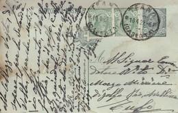 Teano. 1922. Annullo Guller TEANO (CASERTA), Su Cartolina Postale - Storia Postale