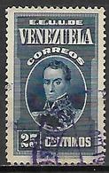 VENEZUELA    -  1938.   Y&T N° 203 Oblitéré. - Venezuela